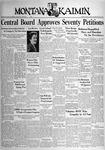 The Montana Kaimin, April 15, 1938