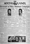 The Montana Kaimin, April 19, 1938