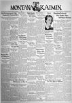 The Montana Kaimin, April 22, 1938