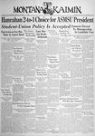 The Montana Kaimin, May 6, 1938