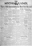 The Montana Kaimin, May 11, 1938