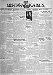 The Montana Kaimin, May 20, 1938