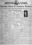 The Montana Kaimin, May 27, 1938