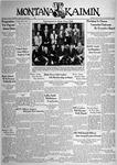 The Montana Kaimin, May 31, 1938