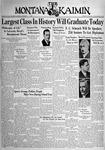 The Montana Kaimin, June 6, 1938