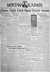 The Montana Kaimin, September 23, 1938
