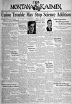 The Montana Kaimin, October 4, 1938