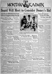 The Montana Kaimin, October 7, 1938
