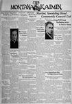 The Montana Kaimin, October 11, 1938
