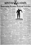 The Montana Kaimin, October 28, 1938
