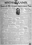 The Montana Kaimin, November 4, 1938