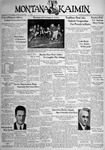 The Montana Kaimin, November 8, 1938