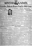 The Montana Kaimin, November 11, 1938