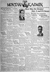 The Montana Kaimin, November 15, 1938
