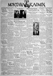 The Montana Kaimin, November 18, 1938