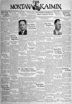 The Montana Kaimin, November 22, 1938