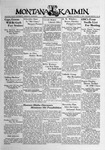 The Montana Kaimin, January 17, 1939