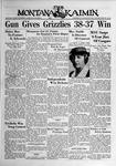The Montana Kaimin, January 25, 1939