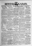 The Montana Kaimin, January 27, 1939