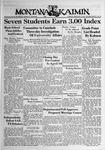 The Montana Kaimin, February 7, 1939