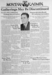 The Montana Kaimin, February 8, 1939