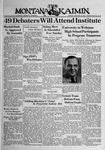 The Montana Kaimin, February 10, 1939