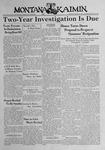 The Montana Kaimin, March 3, 1939