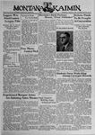 The Montana Kaimin, March 9, 1939