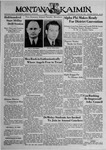 The Montana Kaimin, March 29, 1939