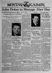 The Montana Kaimin, March 30, 1939 by Associated Students of Montana State University