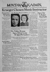 The Montana Kaimin, March 31, 1939 by Associated Students of Montana State University