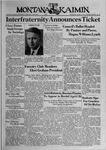 The Montana Kaimin, April 6, 1939