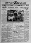 The Montana Kaimin, April 19, 1939