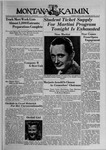 The Montana Kaimin, May 9, 1939 by Associated Students of Montana State University