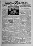 The Montana Kaimin, May 26, 1939