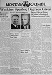 The Montana Kaimin, June 3, 1940
