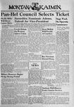 The Montana Kaimin, April 11, 1941