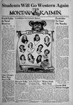 The Montana Kaimin, October 23, 1942