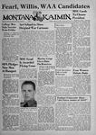 The Montana Kaimin, March 30, 1943