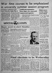 The Montana Kaimin, April 30, 1943