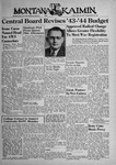 The Montana Kaimin, May 14, 1943