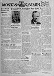 The Montana Kaimin, September 24, 1943