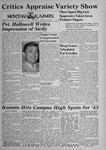 The Montana Kaimin, January 7, 1944