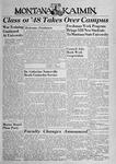 The Montana Kaimin, September 27, 1944