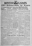 The Montana Kaimin, October 10, 1944