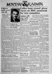 The Montana Kaimin, March 9, 1945