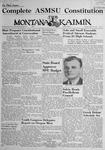 The Montana Kaimin, April 12, 1946