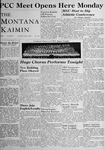 The Montana Kaimin, June 3, 1948