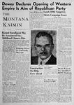 The Montana Kaimin, September 29, 1948