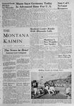 The Montana Kaimin, November 9, 1948